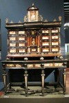Inlaid cabinet