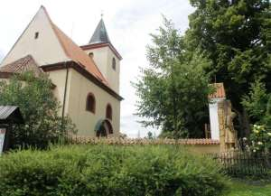 Lada church on the hill