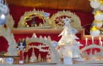 wood carved Christmas decorations