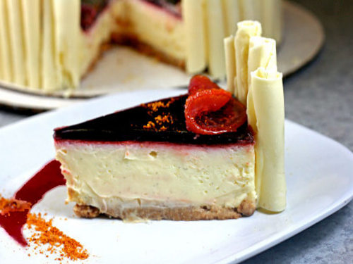 The Creamiest Cheesecake in the World.  Period.