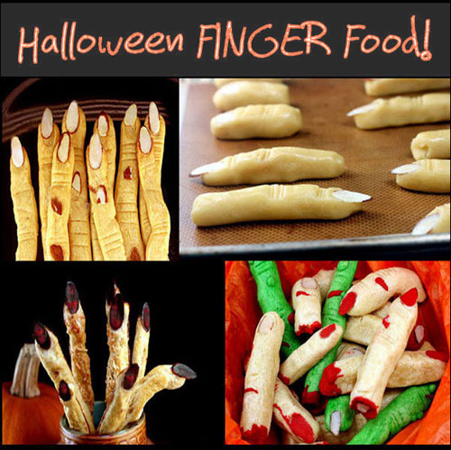 Halloween FINGER food!