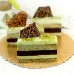 Green Tea – Pistachio – Chocolate – Sesame Mousse Cakes aka I Don't Know What To Call These!