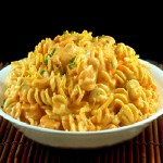 Extremely Creamy Stovetop Sriracha Macaroni and Cheese for SRC