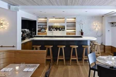 bar hospitality interior design of a kitchen restaurant philadelphia