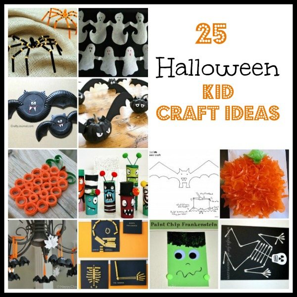 Halloween Kid Craft Ideas