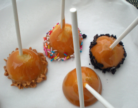 Mini Candy Apple Bites