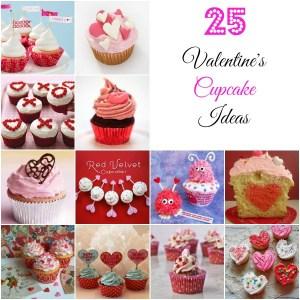 25 Valentine's Day Cupcakes