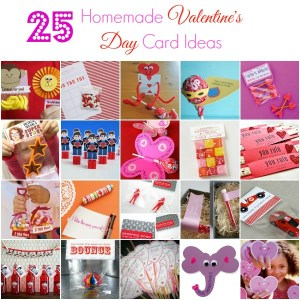 25 Homemade Valentine's Cards