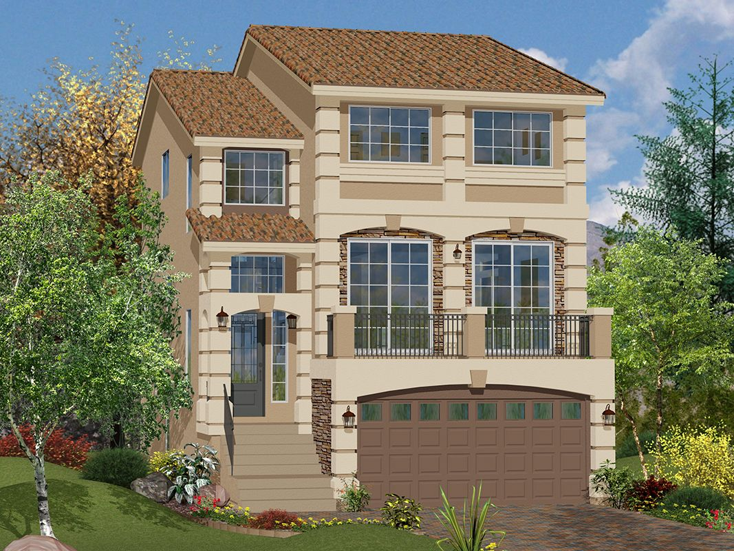 Upscale Photo Las Nv Plan American West Jones Crossing Plan Las Vegas American West Homes Rainbow Crossing American West Homes Jones Crossing houzz-03 American West Homes
