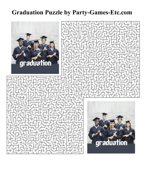 Medium Of Graduation Party Games