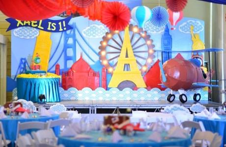 Xael's World Traveler Themed Party – 1st Birthday