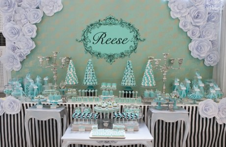 Reese's Breakfast at Tiffany's Themed Party – 7th Birthday