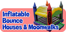 Inflatable Bounce Houses & Moonwalks