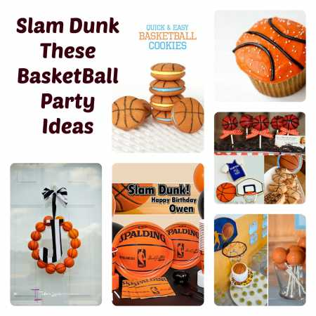 Basketball party ideas party ideas for Basketball craft party ideas