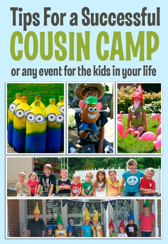 Cousin Camp Ideas