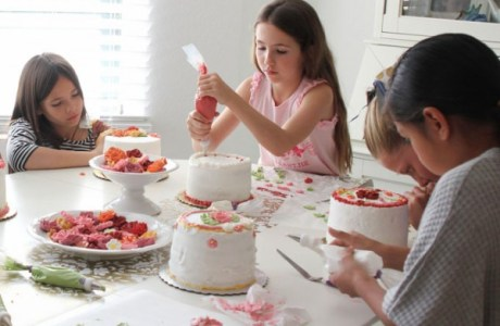 Cake Decorating Party Is a Celebration Little Bakers Are Sure to ...