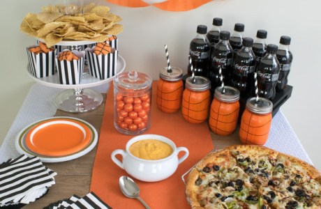 DIY Basketball Themed Party