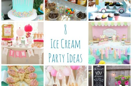 8 Ice Cream Party Ideas