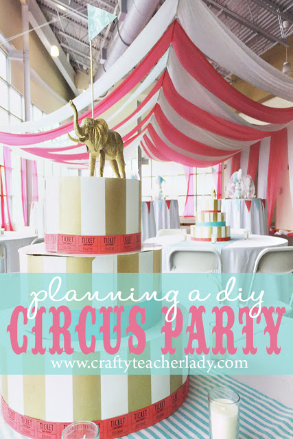 circus party pinterest