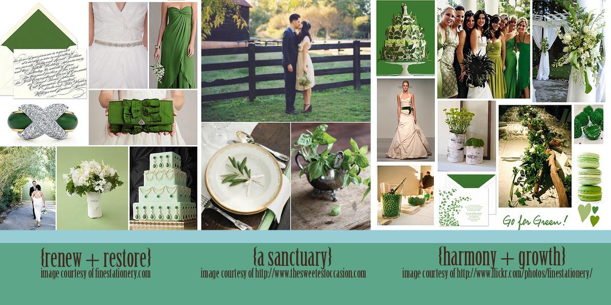 Party Simplicity 2013 Spring Wedding Color Trends Green
