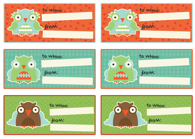 FREE OWL STICKERS
