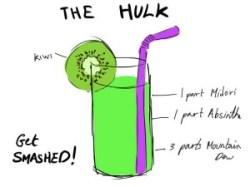 The Hulk Cocktail