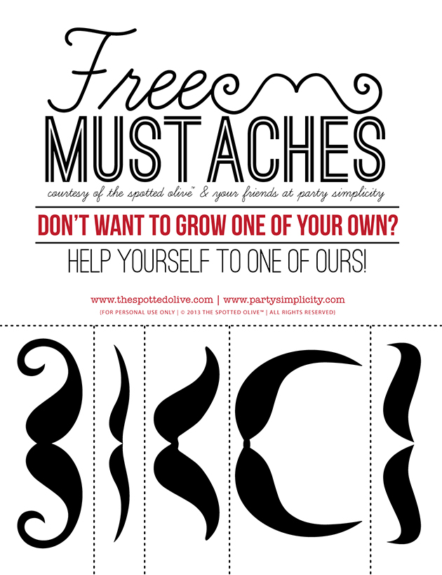 Free Mustaches | Mustache Trend