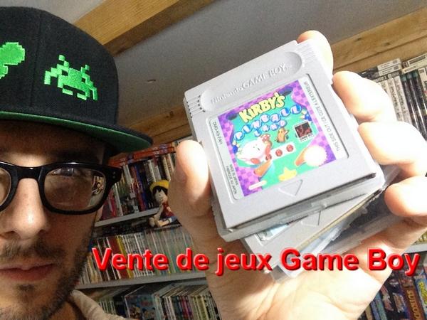 Vlog 7 : Vente de jeux Game Boy Classic, Color et Advance