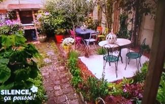 jardin région parisienne à structurer