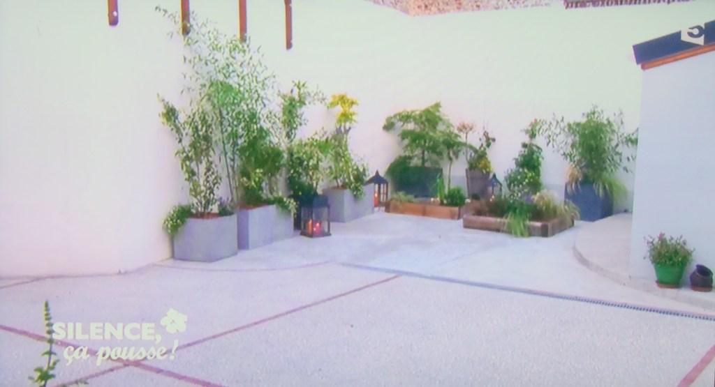 cour ambiance jardin japonais