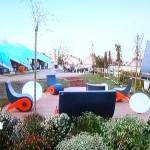 Aménager une terrasse de jardin contemporain