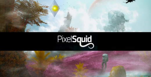 Photoshop 3Dモデル PixelSquidの導入と使い方