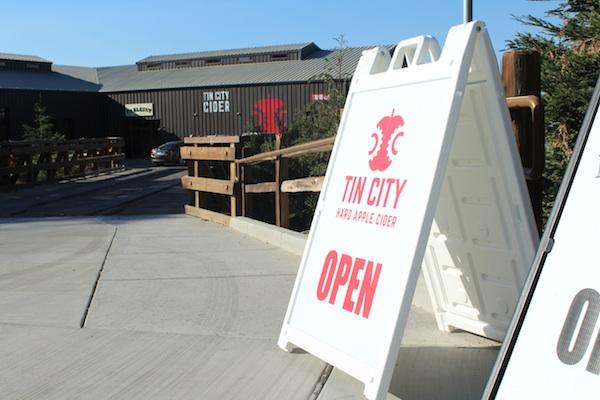 Tin City Cider Company Hard Cider Tasting Room