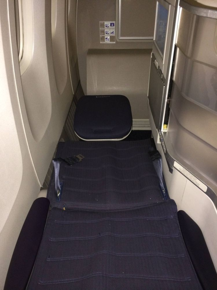 British Airways B777-300ER Business Class Club World Classe Executiva