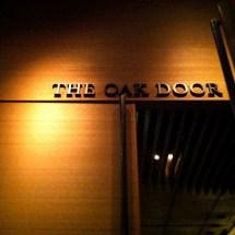 Passagem Gastronômica - Restaurante The Oak Door - Grand Hyatt - Tokyo - Japão