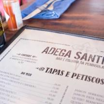 Passagem Gastronômica - Restaurante Adega Santiago - Shopping Cidade Jardim - São Paulo - Brasil