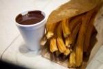 Passagem Gastronômica - Churros - Chocolateria San Gines - Madrid - Espanha