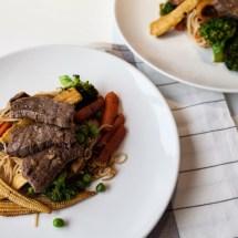 Passagem Gastronômica - Receita de Stir-Fry de Carne com Legumes