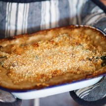 Passagem Gastronômica - Receita de Lasanha Vegetariana de Espinafre e Cogumelos