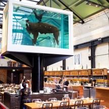 Passagem Gastronômica - Restaurante Tramshed - Londres