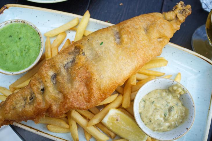 Passagem Gastronômica - Fish and Chips - Vintage Salt - Selfridges