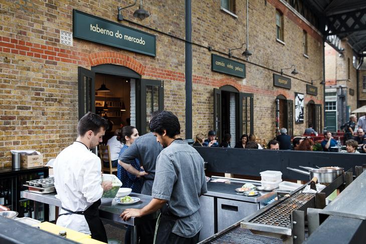 Passagem Gastronômica - Restaurante Taberna do Mercado - Londres