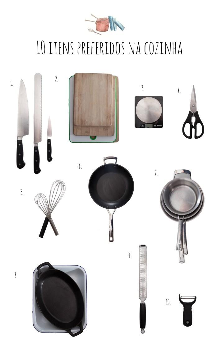Passagem Gastronômica - Itens Essenciais na Cozinha