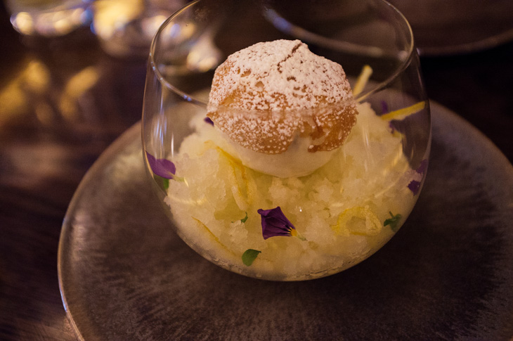 Passagem Gastronômica - Yuzu Marshmallow - Restaurante Sexy Fish - Londres
