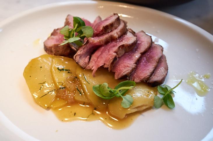 Passagem Gastronômica - Solomillo com Batatas - Restaurante Lurra - Londres