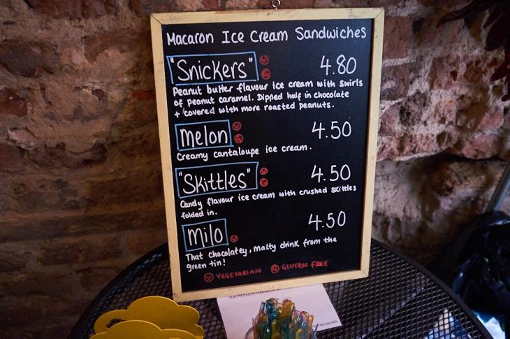 Passagem Gastronômica - Sanduíche de Macaron - Yolkin