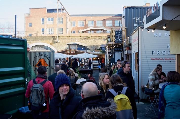 Passagem Gastronômica - Netil Market - Londres