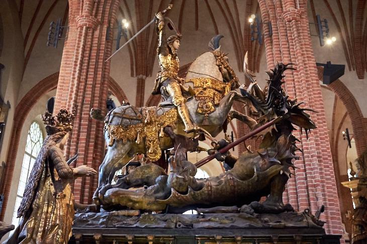 Passagem Gastronômica - Cathedral of St. Nicholas - Estocolmo