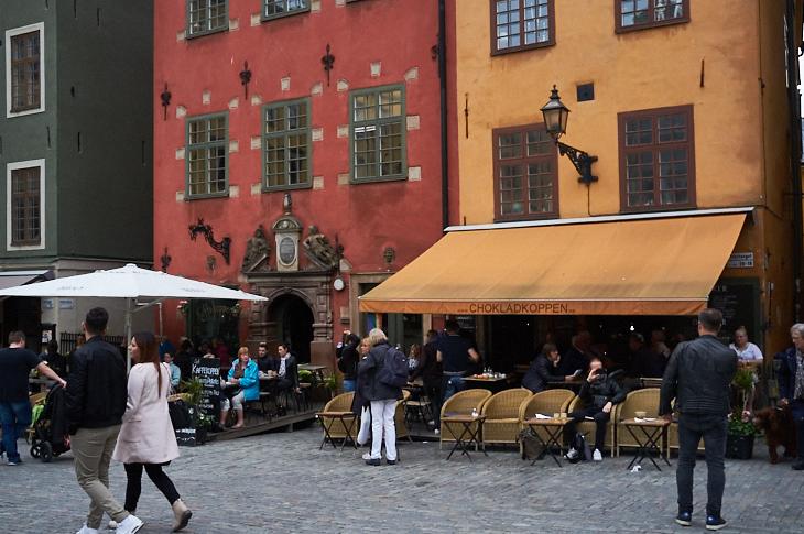 Passagem Gastronômica - Stortorget Square - Estocolmo