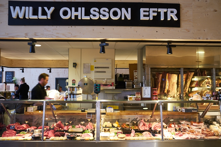 Passagem Gastronômica - Ostermalms Saluhall - Estocolmo
